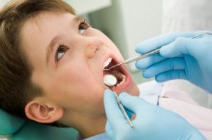 boy recieving dental care in hayward ca