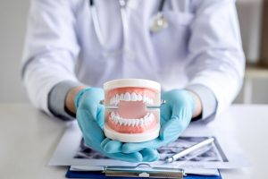 Denture repair dentist photo