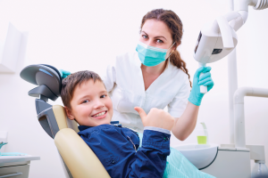 Picture of a dentist